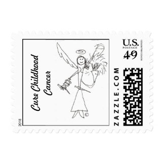 Postage Stamp, Gage's Heaven Worrior 3