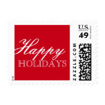 Postage Stamp | Happy Holidays