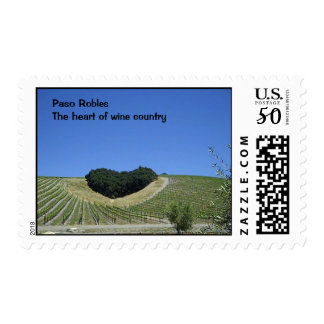 Postage Stamp: Heart Hill Vineyard in Paso Robles