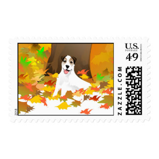 Postage Stamp - Jack Russell Terrier Dog