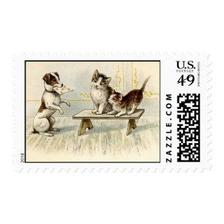 postage stamp Jack Russell Terrier dog letter for