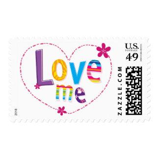 POSTAGE STAMP :: love me