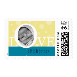 POSTAGE STAMP LOVEbubbles - Customized