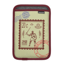 Postage Stamp Medieval Knight Sleeve