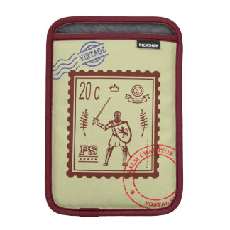 Postage Stamp Medieval Knight Sleeve