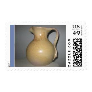 Postage Stamp Mobach Utrecht Ceramic Pottery Vase