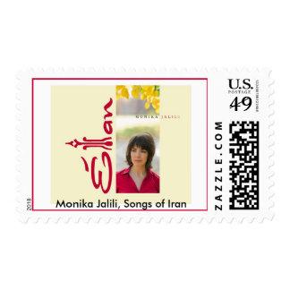 Postage Stamp Monika Jalili, Songs of Iran