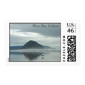 postage stamp - Morro Bay, California