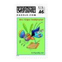 Postage Stamp_Mrs. Flicker Fireflybrarian stamp