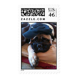 Postage stamp of Bullmastiff Pablo 3