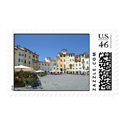 Postage stamp of Piazza dell'Anfiteatro