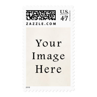 Postage Stamp Personalized Vertical Mailing Stamps