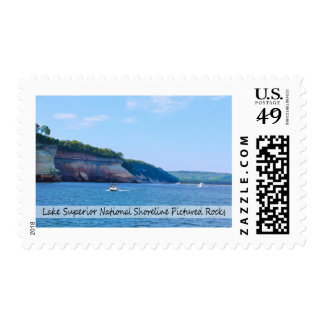Postage Stamp/Pictured Rocks