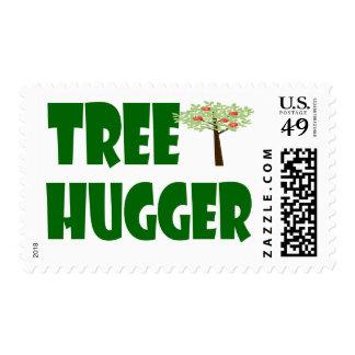 postage stamp tree hugger