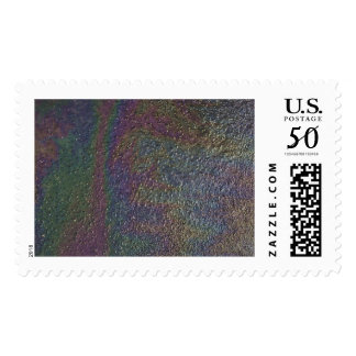 Postage Stamp with Prism Design