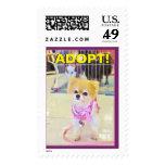 Postage Stampe - Bella Says Adopt!