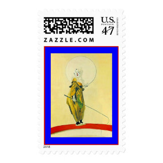 POSTAGE STAMPS CLOWN CLOWNS CIRCUS ARTS PERFORMING