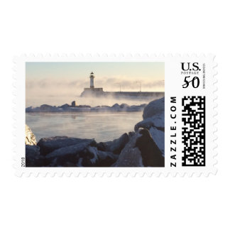 Postage Stamps Duluth Canal Park Ice and Frost