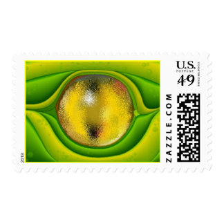 POSTAGE STAMPS EYE OF THE LIZARD'S REPTILE'S EYE