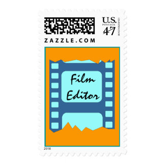 POSTAGE STAMPS FILM EDITOR'S EDITING FILM CUTTING