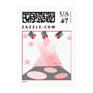 POSTAGE STAMPS FOR THE ASPIRING STAGE PERFORMER