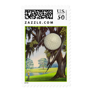 POSTAGE STAMPS Golfer's golf Golfing Vacation Trip