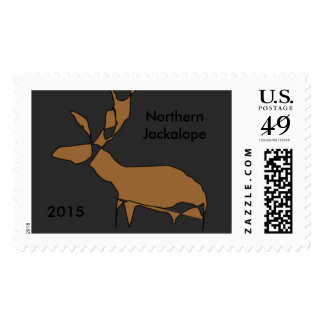 Postage Stamps:  Imaginary Animals 2015 Jackalope