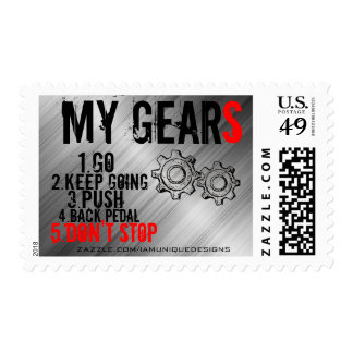 "Postage Stamps, ""MY GEARS"""