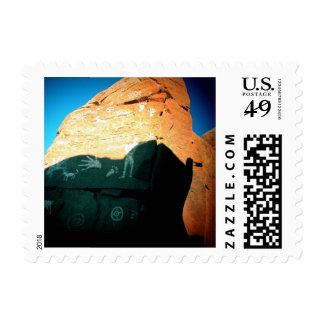 Postage Stamps - Petroglyphs