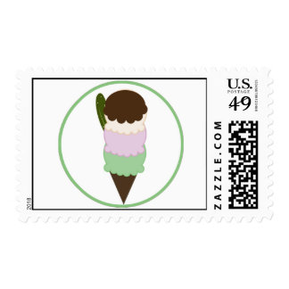 Postage Stamps Pickles and Ice cream
