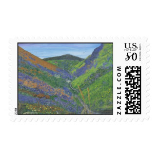 Postage Stamps - Spring Time in the Mountains