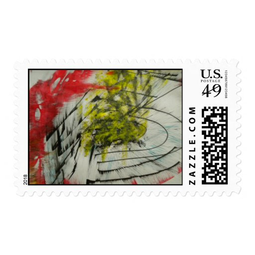 Postage stamps style