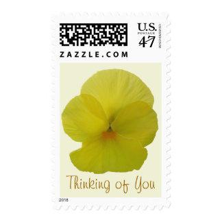 Postage Stamps - USPS - Bearded Lemon Pansy