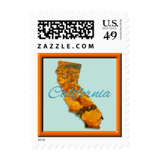 Postage Stamps - USPS - CALIFORNIA