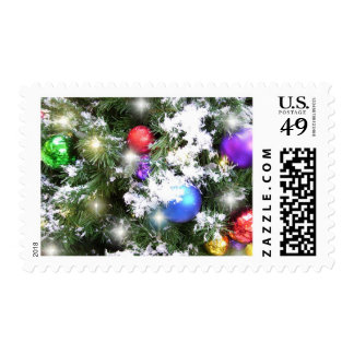 Postage Stamps - USPS - Christmas Glow & Faux Snow