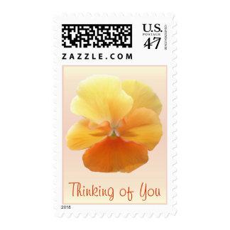 Postage Stamps - USPS - Orange Pansy