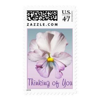 Postage Stamps - USPS - Ruffled Lavender Pansy