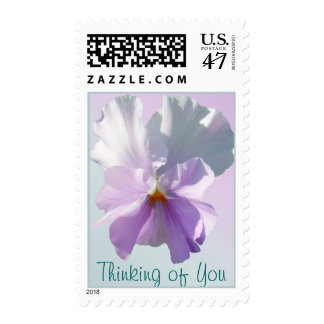 Postage Stamps - USPS - Ruffled Pink Pansy