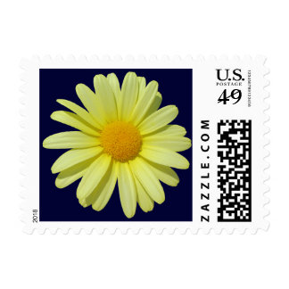 Postage Stamps - USPS - Yellow Daisy on Midnight