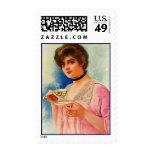 Postage Stamps Vintage Formal Afternoon High Tea
