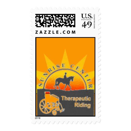 Postage Sunrise Center Therapeutic Riding Logo
