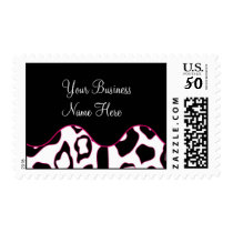 Postage Template **Bold Pink Leopard