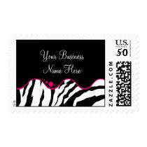Postage Template **Bold Zebra Print