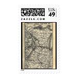 Postage-Vintage Maps-Great Western Railway