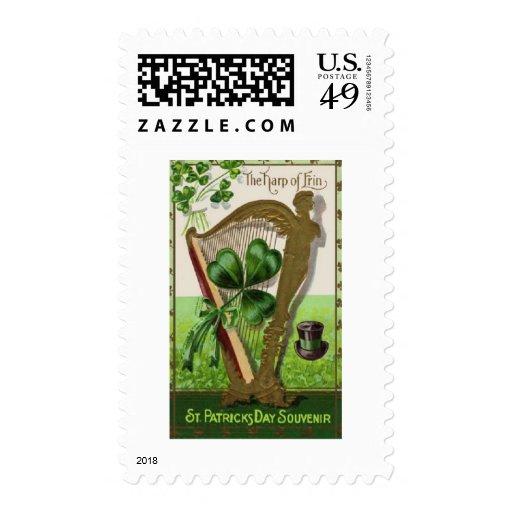 Postage-Vintage St. Patricks Day Postage Stamps