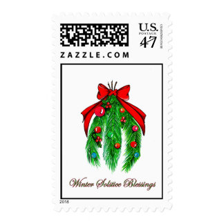 Postage: Winter Solstice Blessings Postage
