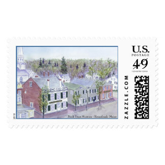 Postage with Brick Store Museum - Kennebunk, Maine