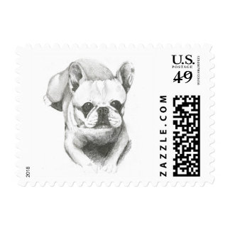 Postage with dog image
