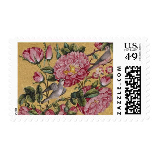 Postage with Floral Design