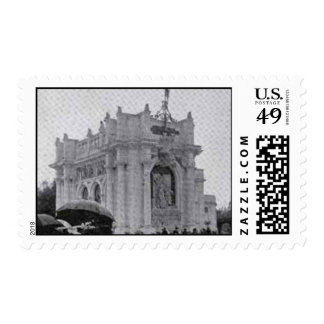 Postage-World's Fair-Building of France